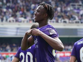 """Kouamé debuteert in het Lotto Park met twee doelpunten: """"De fans gaven me kippenvel"""""""