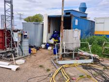 Politie vindt drugslab in container na inval op terrein scheepswerf