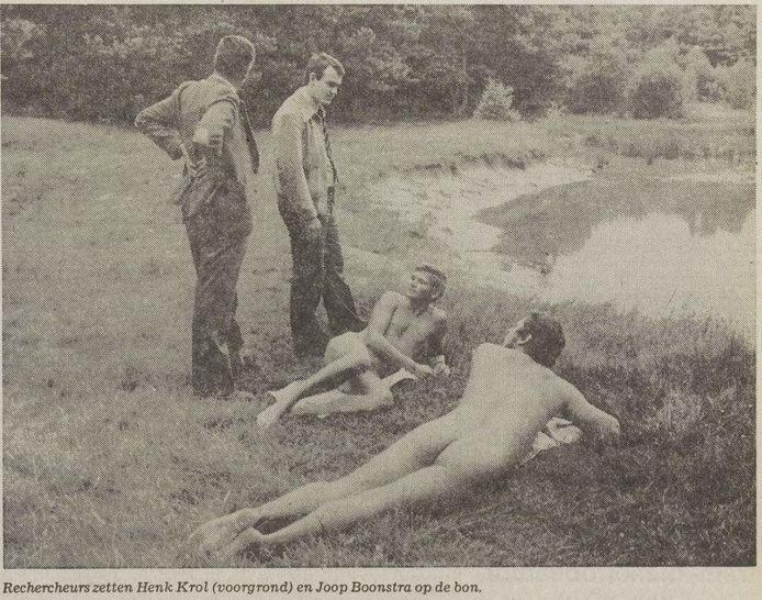 De foto stond eerst in het Eindhovens Dagblad en later in Het Vrije Volk