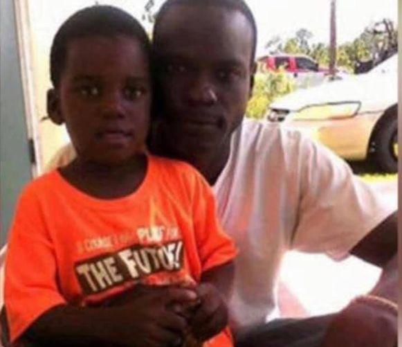 Farrington en zijn zoontje