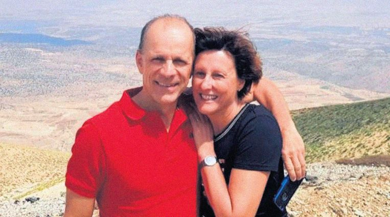 Jan Waltmans met zijn echtgenote Hedwig Waltmans-Molier. Beeld rv