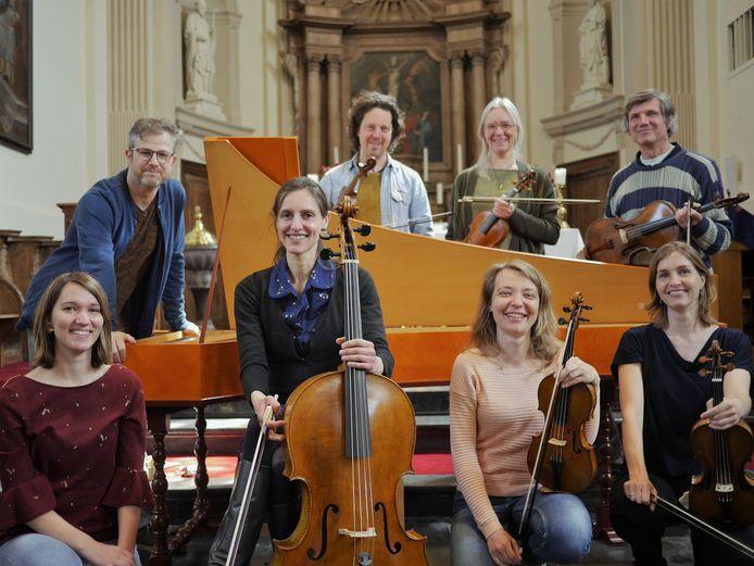 Het barokensemble zal met welgeteld 8 muzikanten optreden.