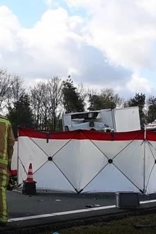 Dodelijk ongeluk op de A67 bij Eersel, snelweg richting Eindhoven weer open