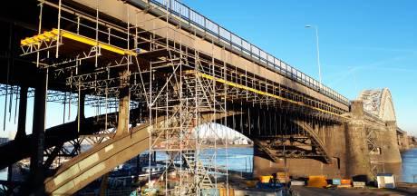 Werk aan Waalbrug op 4 maart van start, eind maart verkeershinder verwacht