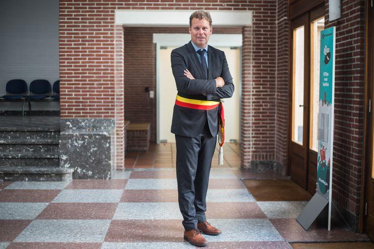 Burgemeester Raf Terwingen mag aan een tweede legislatuur beginnen.