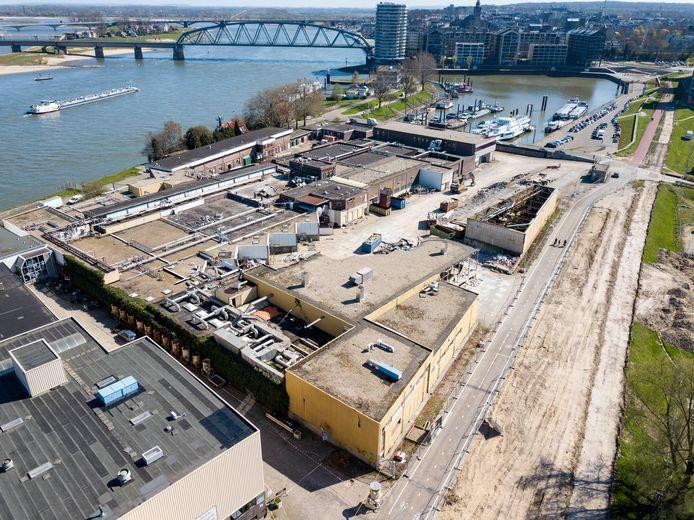 Sloop bedrijventerrein Hilckmann begonnen. Nijmegen, 1-4-2019 .