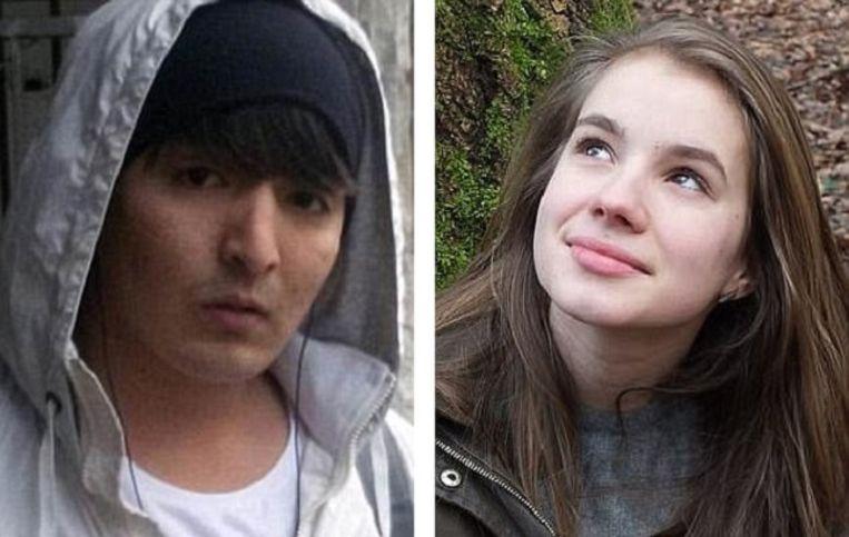 Hussein Khavari vermoordde Maria Ladenburger vorig jaar in Freiburg