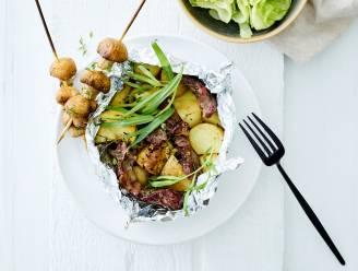 Moerbekenaren koken in januari vegetarisch met aardappelen
