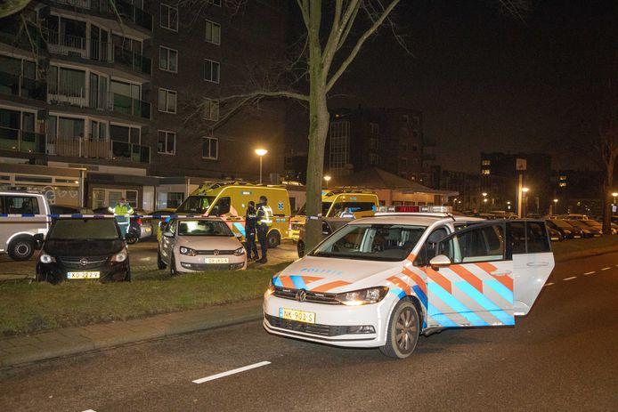 Hulpdiensten rukten groot uit voor het incident in Heemskerk