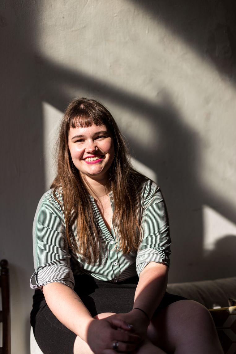 Eline Van Hooydonck: 'Pensioensparen? Ik zou wel willen, maar met welk geld?' Beeld Eva Beeusaert