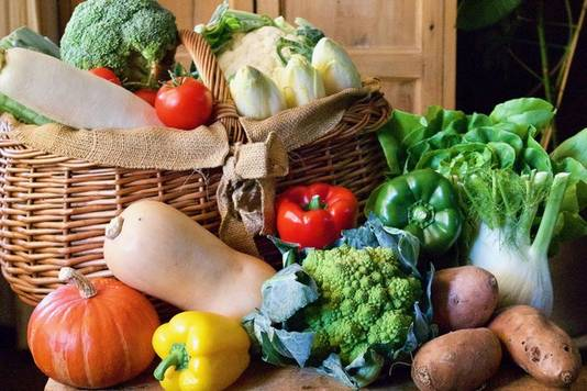 Voor groente geldt: hoe meer afwisseling hoe beter.