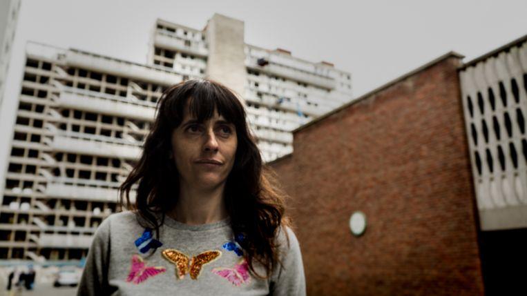 Documentairemaker Christina Vandekerckhove. Beeld fernand van damme