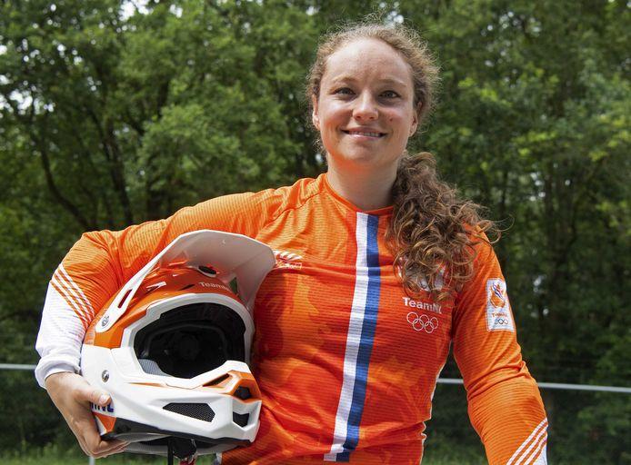 Judy Baauw maakt haar debuut op de Olympische Spelen.