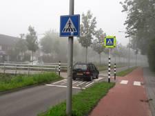 Nieuwe beveiliging Wageningse zebrapaden