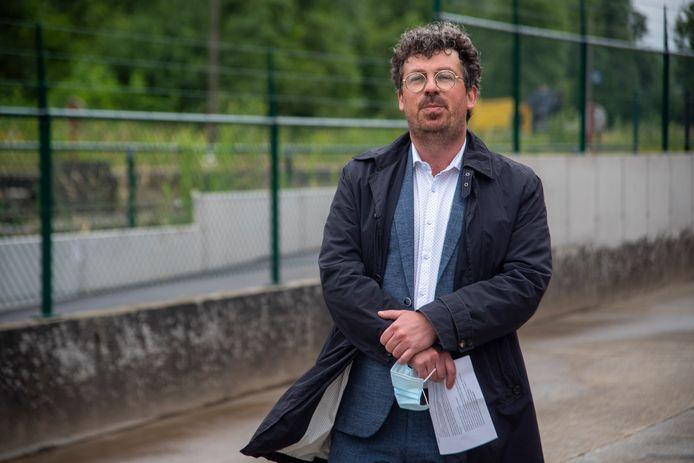 Filip Michiels van het kabinet van minister Lydia Peeters.