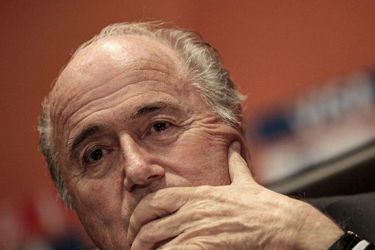 Sepp Blatter overtrad tijdens zijn Fifa-bewind tal van ethische regels.  Beeld picture alliance / dpa