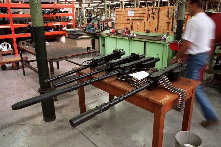 Archiefbeeld FN-fabriek in Herstal Beeld Photo News/ Layla Aerts
