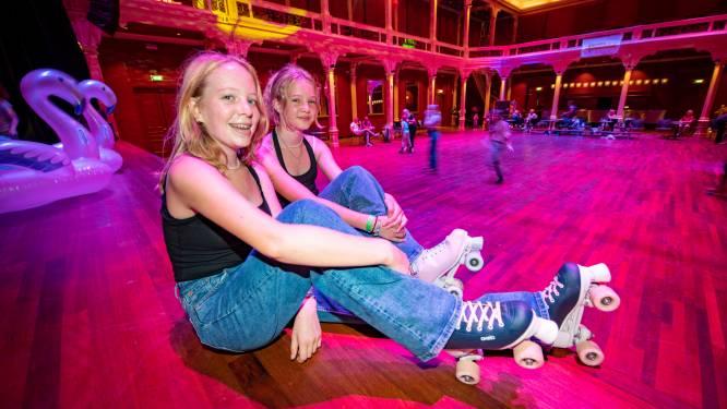 Jongeren konden vandaag skaten op een historische vloer in Zutphen: 'Hier doe je het allemaal voor'