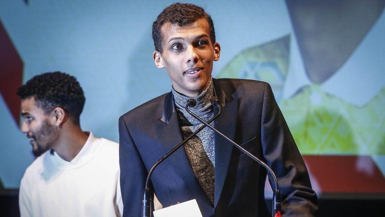 Stromae tijdens de Music Industry Awards vorige maand.