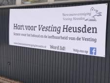Leden Bewonersvereniging Vesting Heusden steunen verzet bouwplan mavo