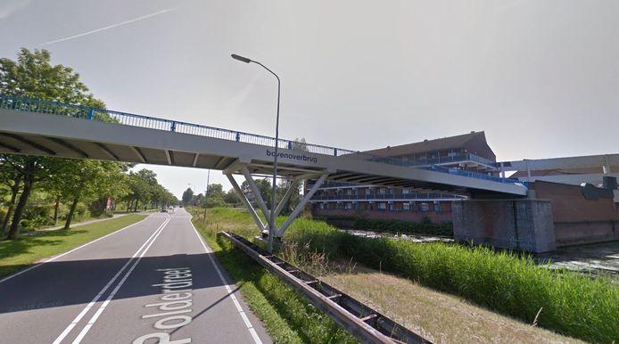 De Bovenoverbrug in Lelystad.