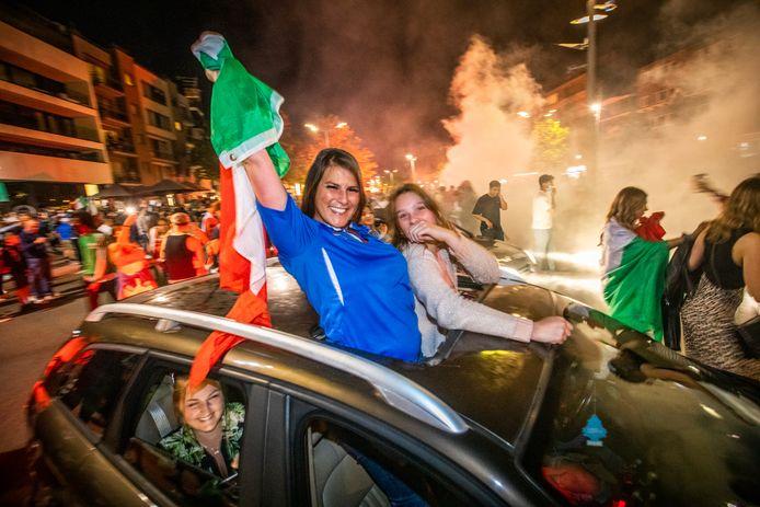 Italië wint het EK Voetbal en dat wordt gevierd in Genk. Breng jij straks verslag uit van het bruisende leven in de stad?