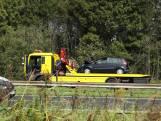 Ongeval tussen twee auto's veroorzaakt file op A58 bij Rilland