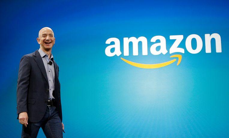 Jeff Bezos heeft een vermogen van bijna 130 miljard euro. Beeld AP