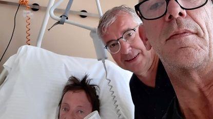 Zanger van punkband Definitivos in ziekenhuis na val met fiets