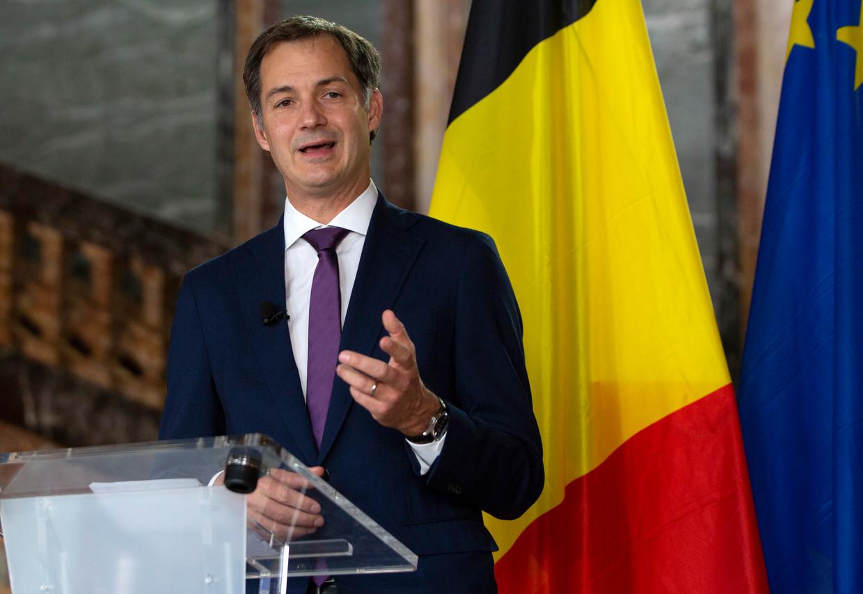 Premier Alexander De Croo. Beeld AP