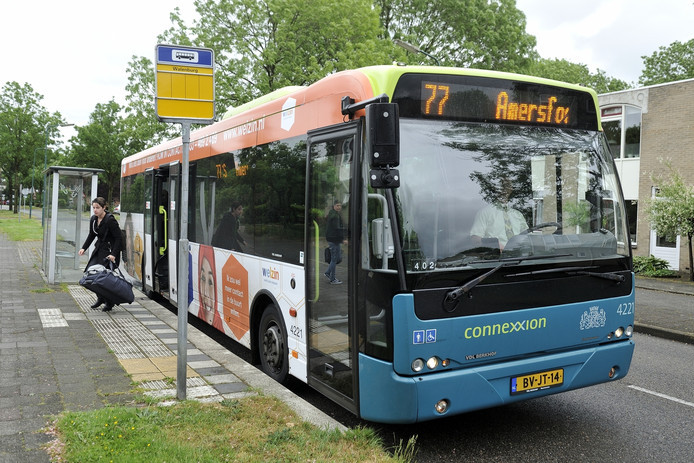Voordat Syntus de busdiensten in de provincie overnam, reed lijn 77 van Connexxion door Leusden Centrum Zuid en de Biezenkamp.