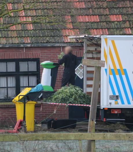 Hennepkwekerij opgerold in Oldenzaal: verdachte aangehouden