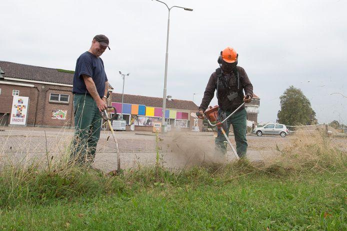 Medewerkers van de Soweco, foto uit 2016.