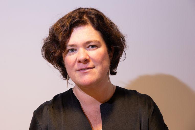 Margot Cloet, topvrouw van Zorgnet-Icuro. Beeld BELGA