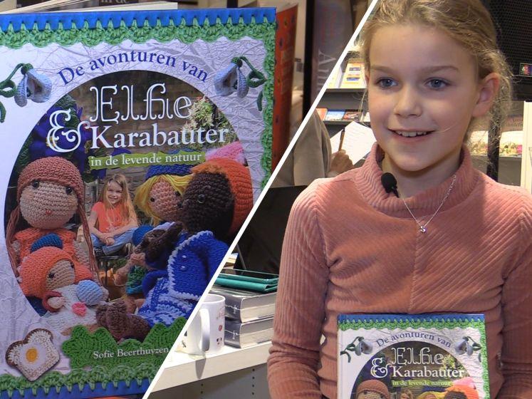 Bijzonder familieproject: Sofie (9) schreef een boek, moeder maakte foto's en oma haakte figuren