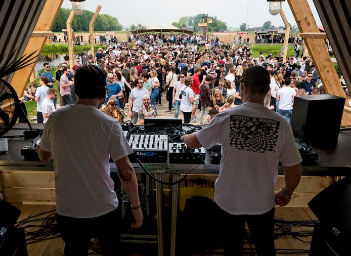 Optreden Pablo Discobar Soundsystem op de laatste editie in 2019 van het Soenda Festival.