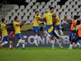 Brazilië boekt met hulp scheidsrechter fortuinlijke zege in Copa América