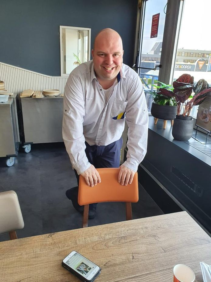 Jurgen van den Broek van HZ'75.