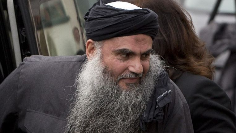 Abu Qatada in november 2012. Beeld REUTERS