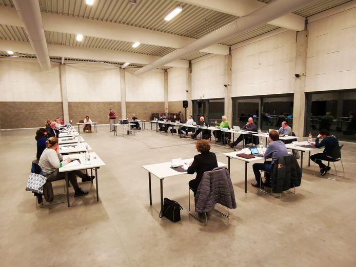 De gemeenteraad kwam maandagavond samen in zaal De Magneet