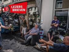 Reacties op 'mafkezen' in Limburg: 'Ze klimmen op de puinhoop voor een filmpje'