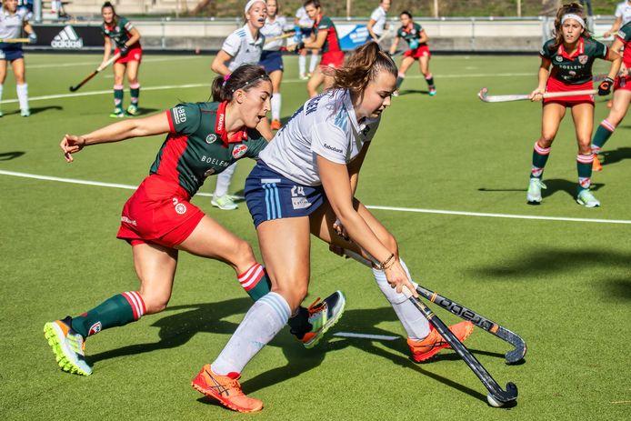 HC Tilburg won vier van de vijf wedstrijden, zoals van MOP in oktober vorig jaar (2-0).