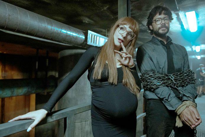 Een beeld uit het vijfde seizoen van 'La casa de papel'