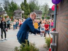 Kinderen van de Julianaschool in Heteren hebben nu hun eigen watertappunt