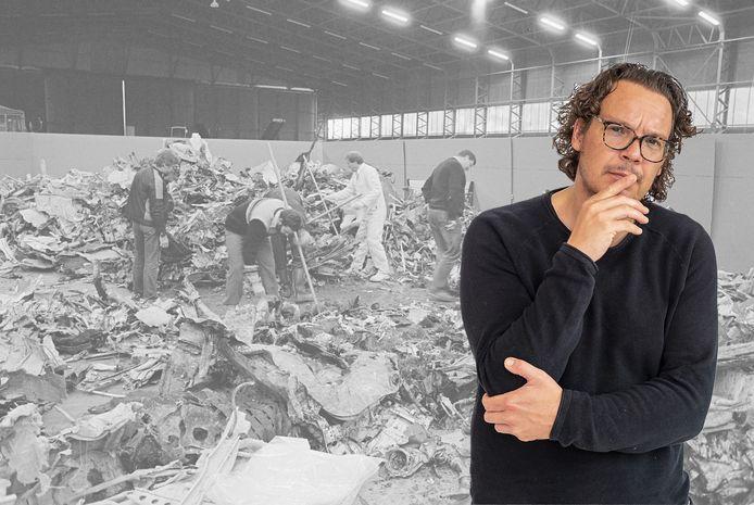 Columnist Pieter van den Akker over 40 jaar vliegramp in Moerdijk