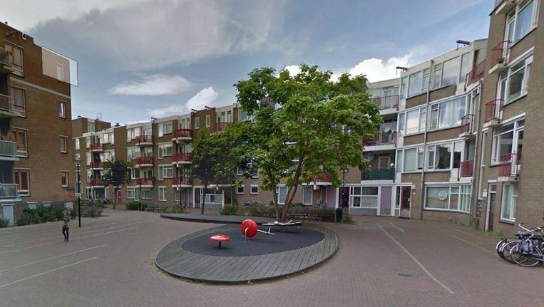 In de Minahassastraat is tijdelijke huisvesting voor 16 statushouders gerealiseerd Beeld Google Streetview