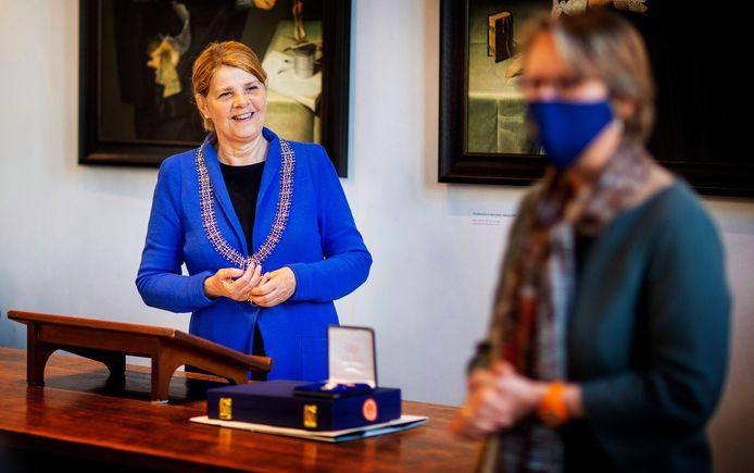 Marja van Bijsterveldt verkende samen met Emile Roemer de mogelijkheden in de Brabantse politiek.