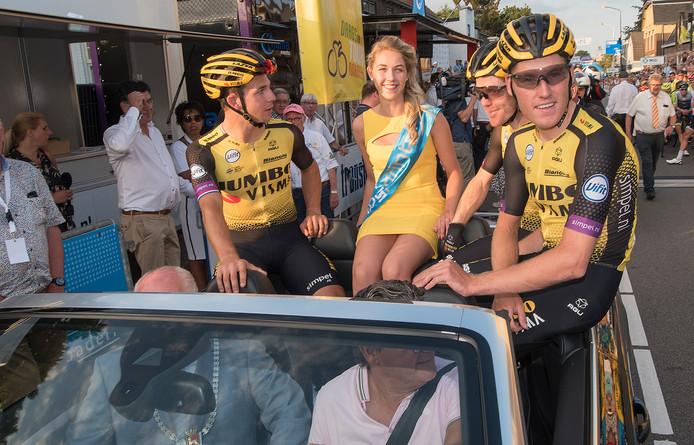 Daags na de Tour in Boxmeer is het eerste criterium na de Tour de France.