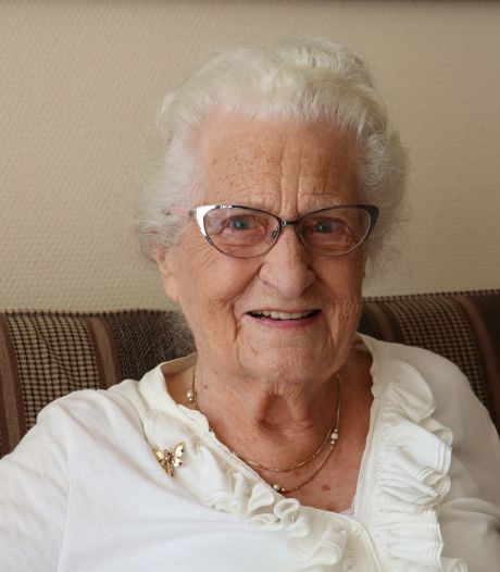 Kwieke 100-jarige mevrouw Noteboom kijkt uit naar feestweekeinde