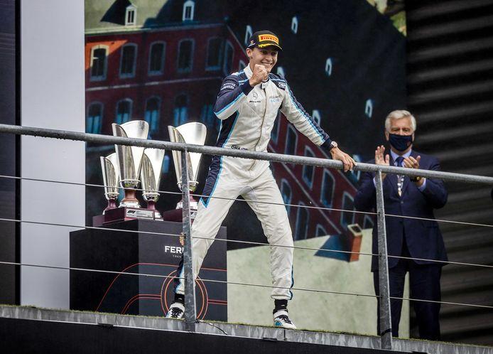 George Russel sera le deuxième pilote de Mercedes en 2022.